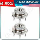 Pair  2 Front Left And Right Wheel Hub Bearing Assembly For Ford Mustang Avanti
