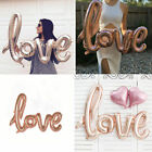 LOVE Shaped Foil Balloons Large Helium Number Wedding Birthday Party Souvenirs