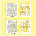 Scrapbooking Alphabet Metal Cutting Dies DIY Stencil Letters For Art