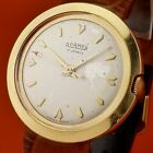 VINTAGE  ROAMER  18K GOLD FILLED  STEEL BACK CASE Manual Wind from 1960