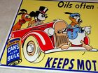 VINTAGE SUNOCO OIL MICKEY MOUSE, DONALD DUCK & PLUTO 12