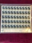 US Stamp Sheet Sc 1371 Apollo 8 Space Mission Rocket  Space