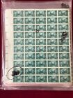 FDR White House 3 cent Sheets of 50 Mint Stamps Great Condition