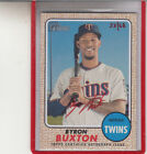 2017 Topps Heritage High Number Baseball Cards 68