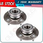 Pair New Rear Left or Right Wheel Hub Bearing Assembly For Nissan Axxess 4 Lug