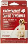 8in1 Safe Guard Canine Dewormer for Dogs 3 Day Treatment Large Pack 3 New