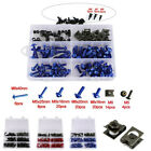 Motorcycle Screw Set Windscreen Fairing Bolts Kit Fastener Clip Screw Aluminium