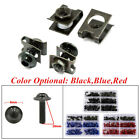 Motorcycle Screw Set Windscreen Fairing Bolts Kit Fastener Clip Screw with Box