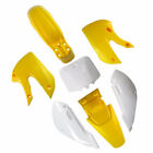 Kawasaki KLX 110 KX 65 Suzuki DRZ 110 RM 65 Body Plastic Fairing Kit yellow