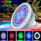 IP65 40W Swimming Pool LED Light Bulb RGB+W Color Changing for Pentair Hayward
