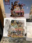 Rare New Lemax Carole Town Wendy's Kite Shop 2009 Christmas Train Village