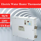9KW Electric Water Heater Thermostat 220V for Swim Pool SPA Massage Spring USA