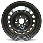 New 17 19 Chrysler Pacifica 17 Inch Full Size Black Replacement Steel Wheel Rim