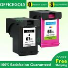 2 Combo Ink Cartridges for HP 63XL OfficeJet 3830 4650 5220 5252 5255 5258 5264