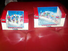 NIB Lot of Lemax Village Accessories! Skiing Party & Ski Ducklings! Vail Village
