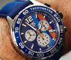 Tag Heurer Formula 1 Gulf Special Edition Chronograph  Men's Watch - Blue