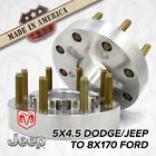 5x45 to 8x170  5 to 8 Lug  Hub Centric Wheel Adapters 2 Spacers  2pc