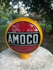 Original Amoco Gas Pump Globe 15