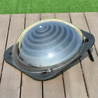 Outdoor Solar Dome Swimming Pool Water Heater Inground Above Ground Yard Black