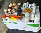INTERESTING VINTAGE LOT OF 15 PAIRS OF SALT AND PEPPER SHAKERS