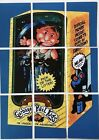 Rare LOST WACKY PACKAGES SERIES 1 Puzzle Checklist Set GPK garbage pail kids