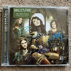 Fully Signed In Person Halestorm Self Titled Izzy Hale Cd Very Rare