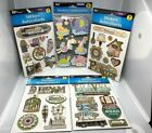 LOT Scrapbooking 3 D Stickers Family Travel Baby Vacation Home Love