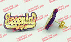 PERSONALIZED 14K GOLD PLATED NAME STUDS  ANY COLOR ANY NAME P TO 7 LETTERS