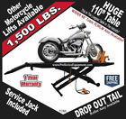 1500lb 110 Table Motorcycle Lift Lifts FREE Shipping  Service Jack