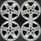 Set 2005 2006 2007 Jeep Grand Cherokee OEM Factory 17 Silver Wheels Rims 9053