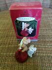 HALLMARK Keepsake 1998 SWEET TREATS Mice w/ HERSHEY KISS Christmas Ornament