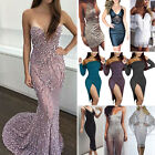 Womens Bridesmaid Evening Party Ball Prom Gown Formal Cocktail Bodycon Dresses