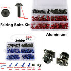 Windscreen Fairing Bolts Kit Fastener Clips Screws Motorcycle Sportbike