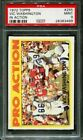 1972 TOPPS IN ACTION #255 VIC WASHINGTON RC 49ERS PSA 9 F2519139-499