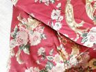 Ralph Lauren Danielle Marseilles Full Fitted Sheet Floral Red French Cotton