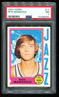 1974 Topps Basketball #10 Pete Maravich PSA 7 - Undergraded Much Nicer