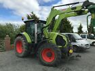 2015 Claas Arion 650 Vario Loader Tractor 50kph Air Cebis Front linkage PTO