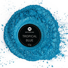 MEYSPRING Tropical Blue Mica Powder for Epoxy Resin Color Pigment Resin Dye