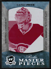 Carey Price Rookie Cards Checklist and Guide 35
