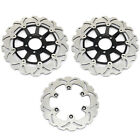 For Kawasaki  ZG1000 GTR 1000 A 1994-2006 Front Rear Brake Discs Rotors Full Set