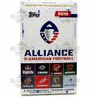 2019 TOPPS ALLIANCE OF AMERICAN FOOTBALL HOBBY SEALED BOX