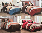 Rustic Southwest Aztec Native Comforter Set 7 Piece Set