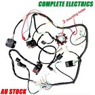 Complete Electric Stator CDI Wiring Harness Loom fit ATV Buggy Gokart 150 250CC