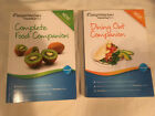 2012 WEIGHT WATCHERS lot COMPLETE FOOD Points Plus DINING OUT lot of 2