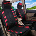 Car Seat Covers Cooling Ice Silk Front Massage Breathable Auto Cushion Protector
