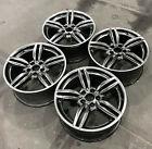SET OF 4 BMW 5  6 SERIES ACTIVEHYBRID 5 M6 11 18 19 FACTORY OEM WHEELS RIMS