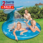 PREMIUM NEW Inflatable Pool Whale Spray Swimming Pools Kid Children Baby Toddler