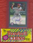 2018 Topps PAT NESHEK PHILLIES CERTFIED ON CARD AUTOGRAPH Fan Favorite+Coin Pack