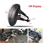 Adjustable Motorcycle Tire Mudguard License Plate Frame Rear Wheel Cover Fender