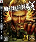 Mercenaries 2 World In Flames Japan Playstation3 2008 New